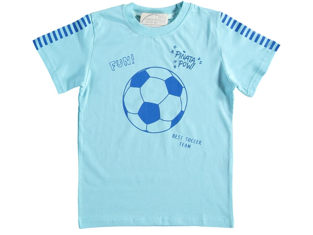 Футболка голубой 3/7 лет 324686